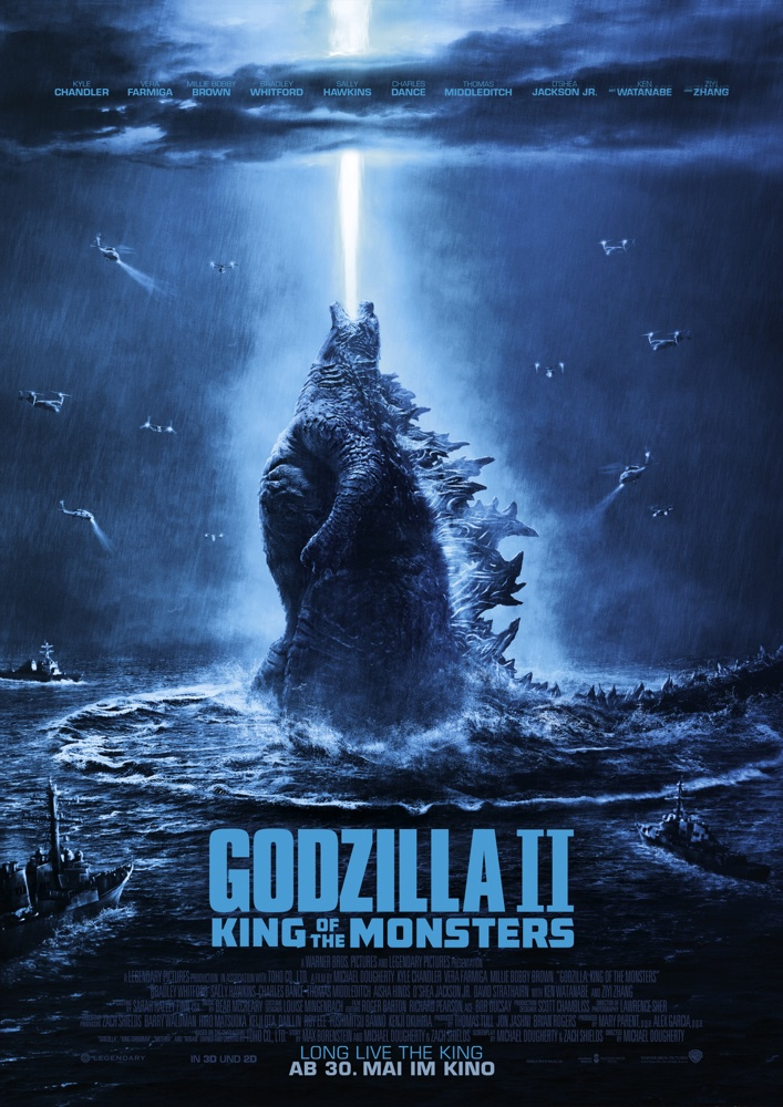 Godzilla 2: King of the Monsters - Filmplakat