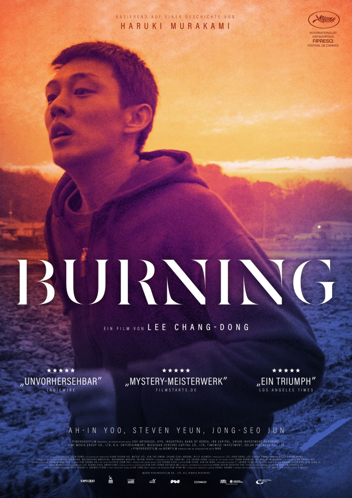 Burning - Filmplakat