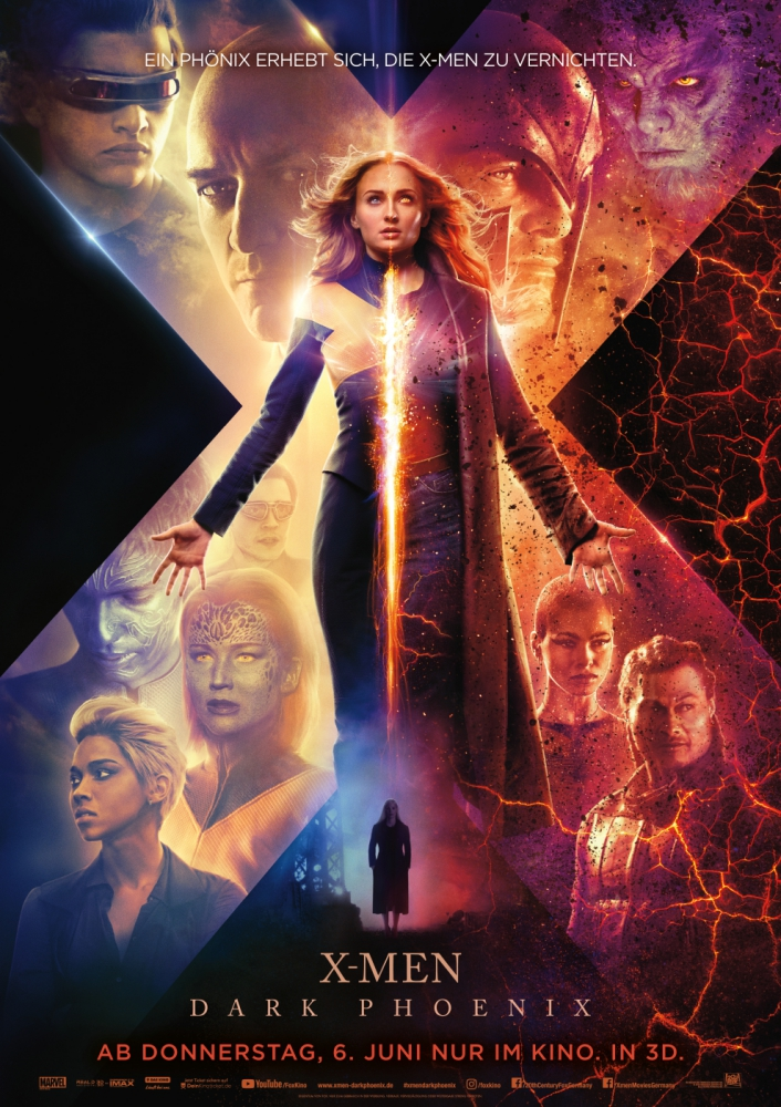 X-Men: Dark Phoenix - Filmplakat