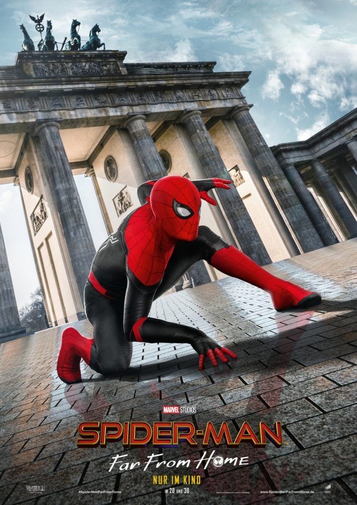 Spider-Man: Far From Home - Filmplakat