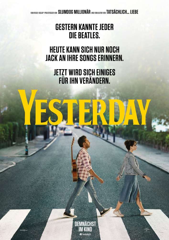Yesterday - Filmplakat