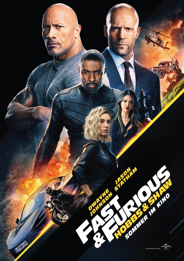 Fast and Furious - Hobbs and Shaw - Filmplakat