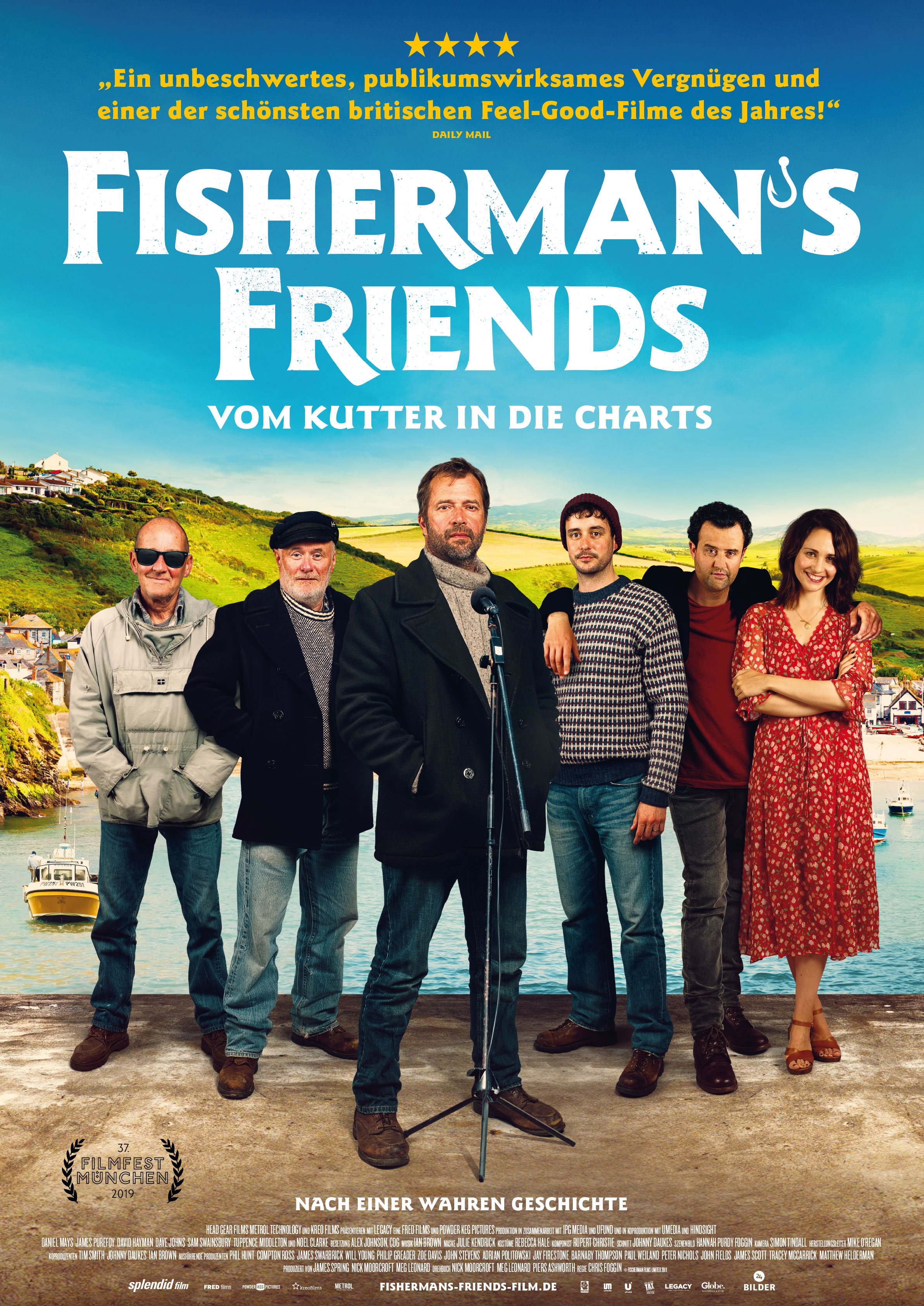 Fishermans Friends - Filmplakat