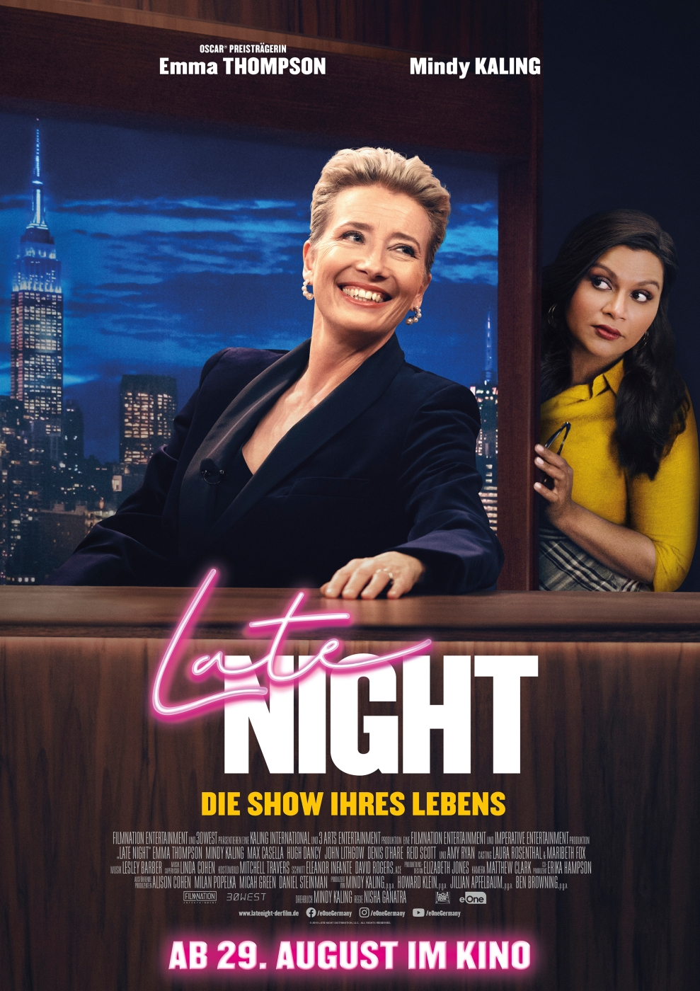 Late Night - Filmplakat
