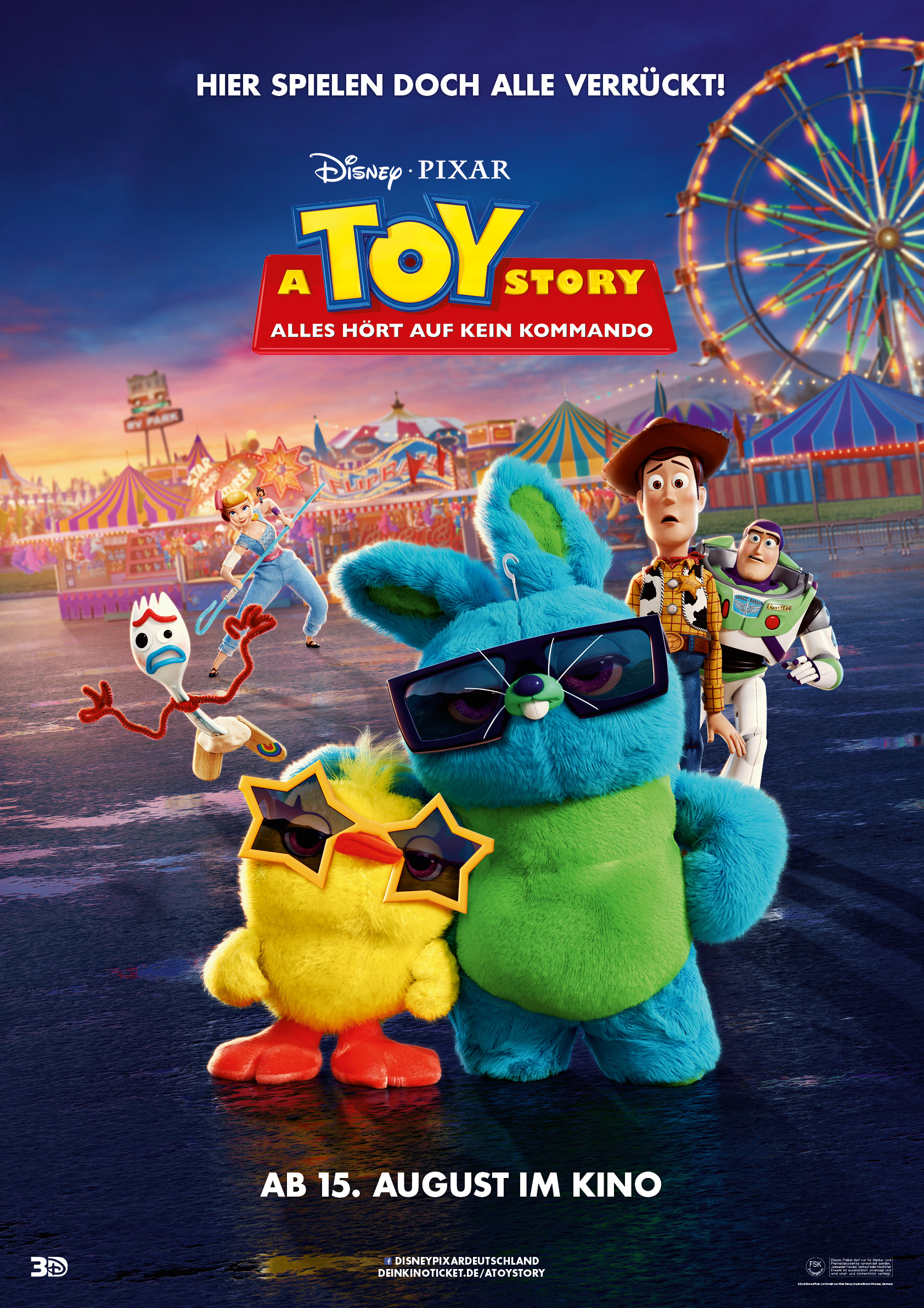 Toy Story 4 - Filmplakat