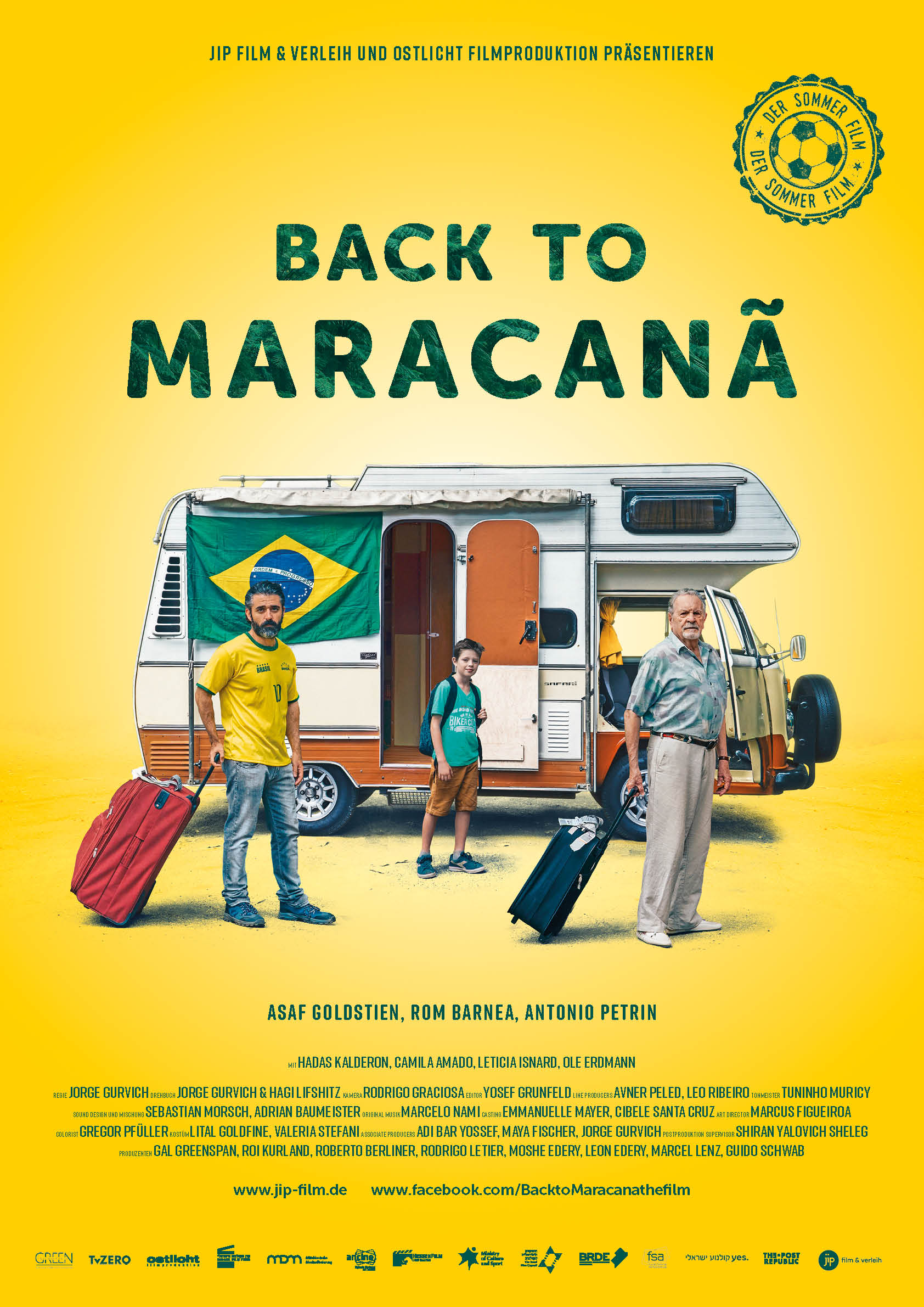 Back to Maracana - Filmplakat