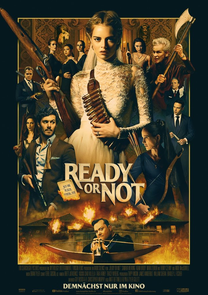 Ready or Not - Filmplakat