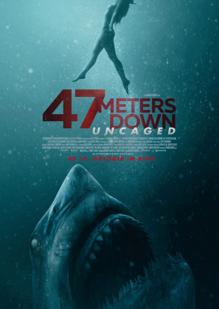 47 Meters Down - Uncaged - Filmplakat