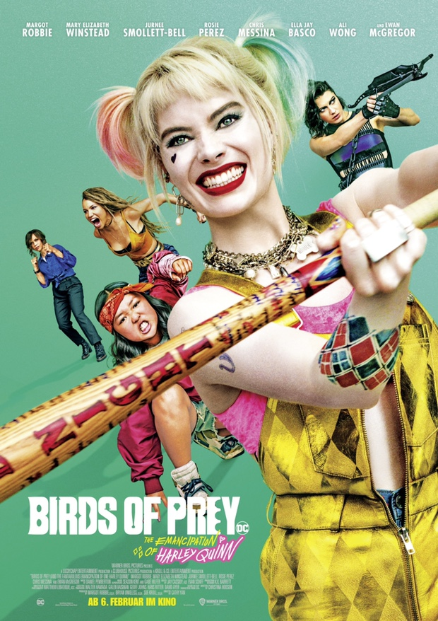 Birds of Prey - The Emancipation of Harley Quinn - Filmplakat