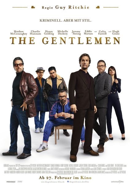 The Gentlemen - Filmplakat