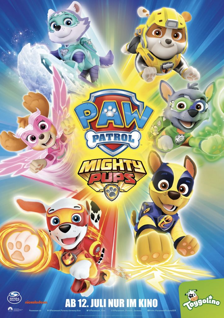 Paw Patrol - Mighty Pups - Filmplakat