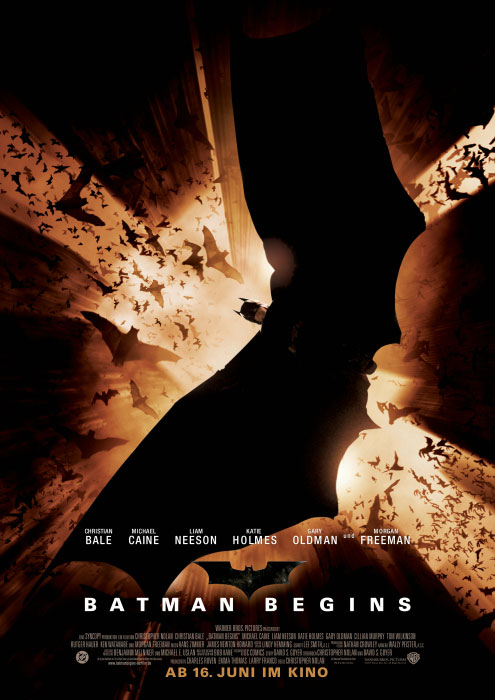 Batman Begins - Filmplakat
