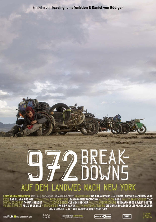 972 Breakdowns - Filmplakat