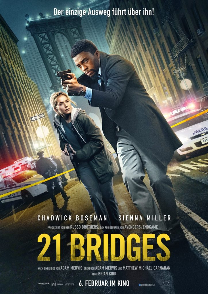 21 Bridges - Filmplakat