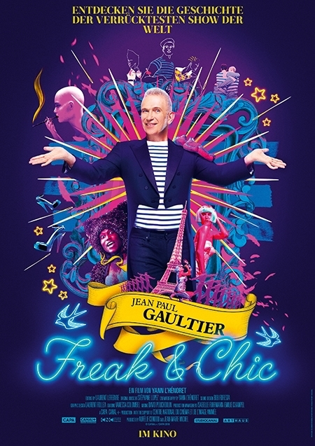 Jean Paul Gaultier - Freak & Chic - Filmplakat