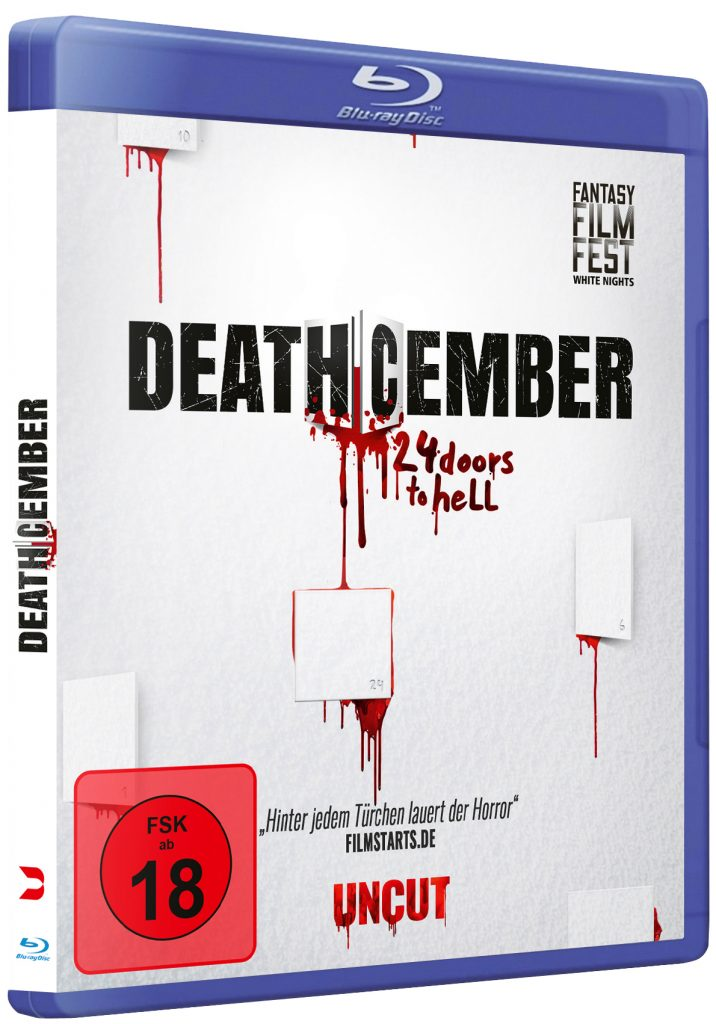 Deathcember - 24 doors to hell - Blu-ray Packshot